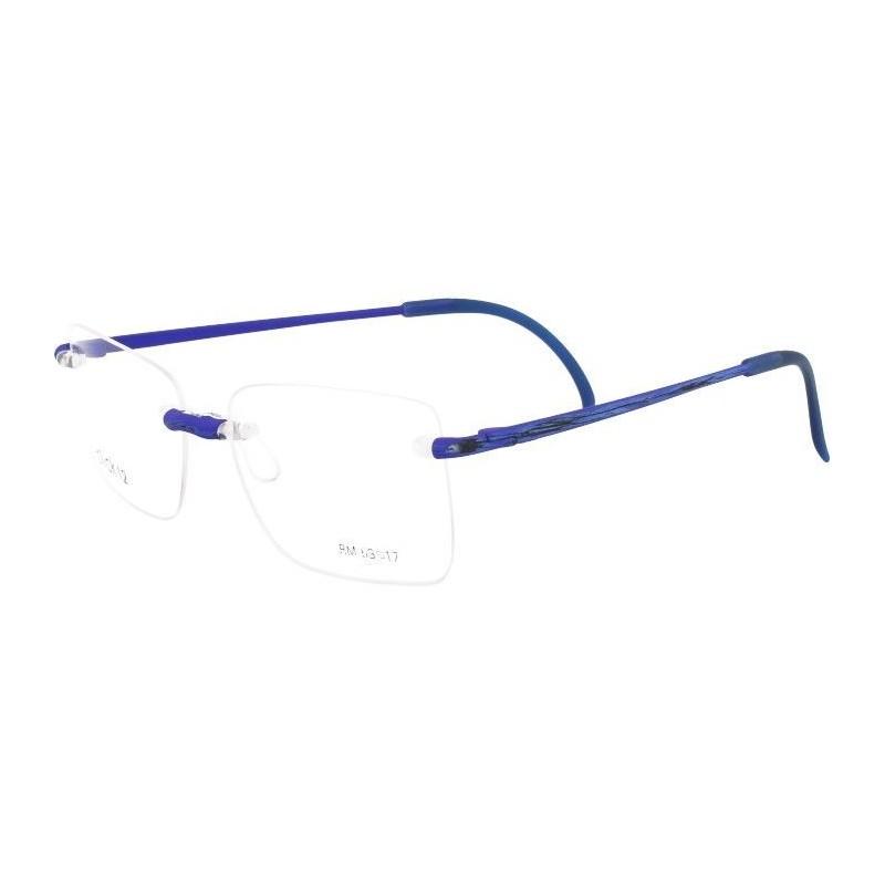 Occhiali da vista CLICK 12 SCRATCHED COLORS FLUO BLUE 706