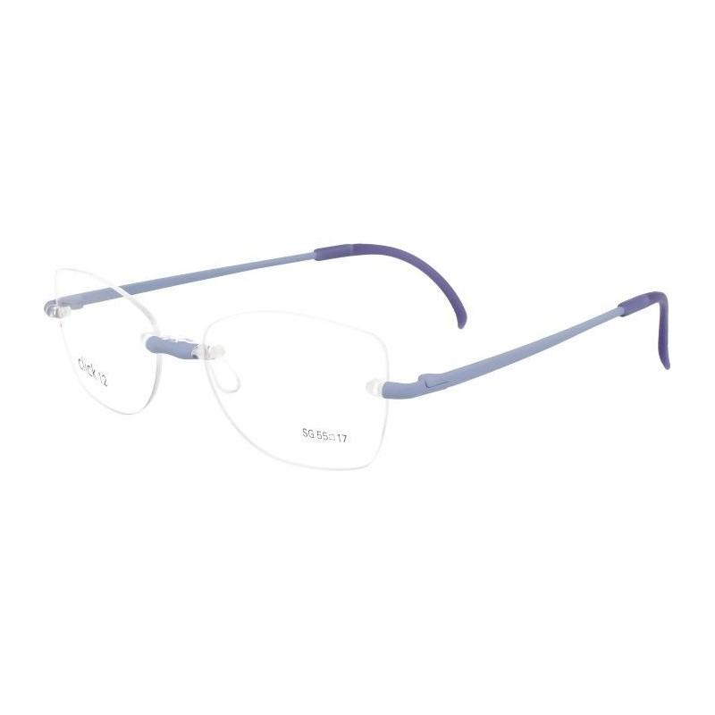 Occhiali da vista CLICK 12 Rubber 608 LILLA