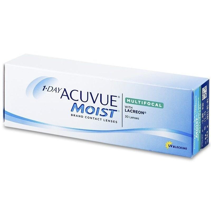 Lenti a contatto Acuvue 1 day Moist Multifocal 30 lenti