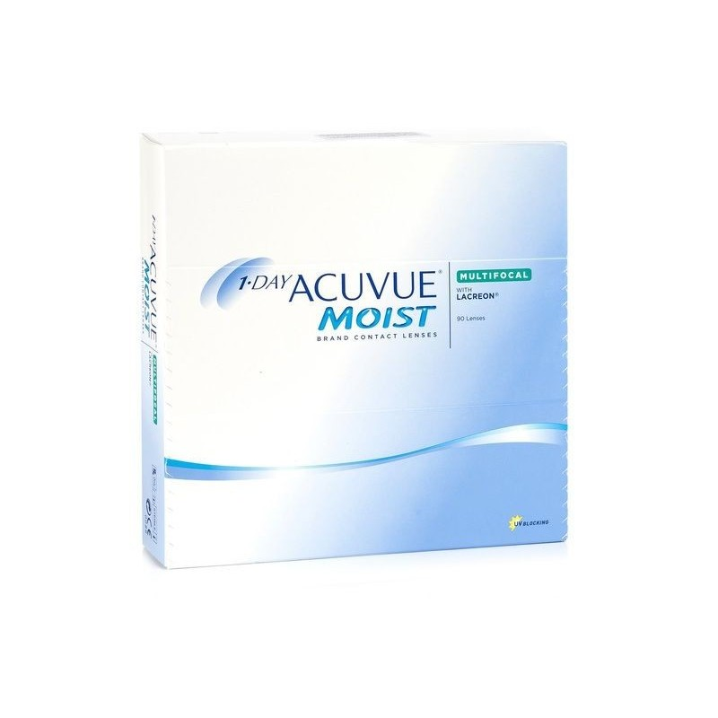 Lenti a contatto Acuvue 1 day Moist Multifocal 90 lenti