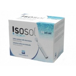 Isosol saline solution with...