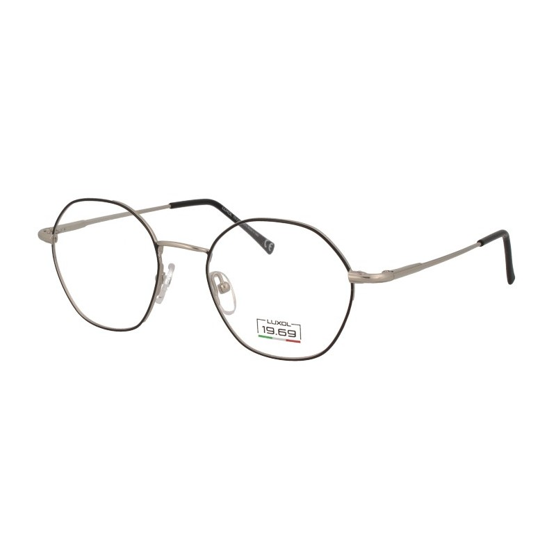 Occhiali da vista LUXOL 19.69 AG005 BLACK 48