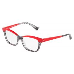 ALAIN MIKLI A0 3037 001 53 BLACK CRYSTAL PONTILLE' RED
