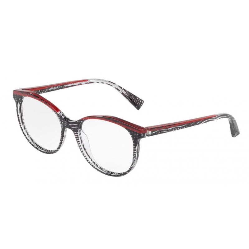 Occhiali da vista ALAIN MIKLI A0 3069 002 54 BLACK CRYSTAL RED BLACK CRYSTA