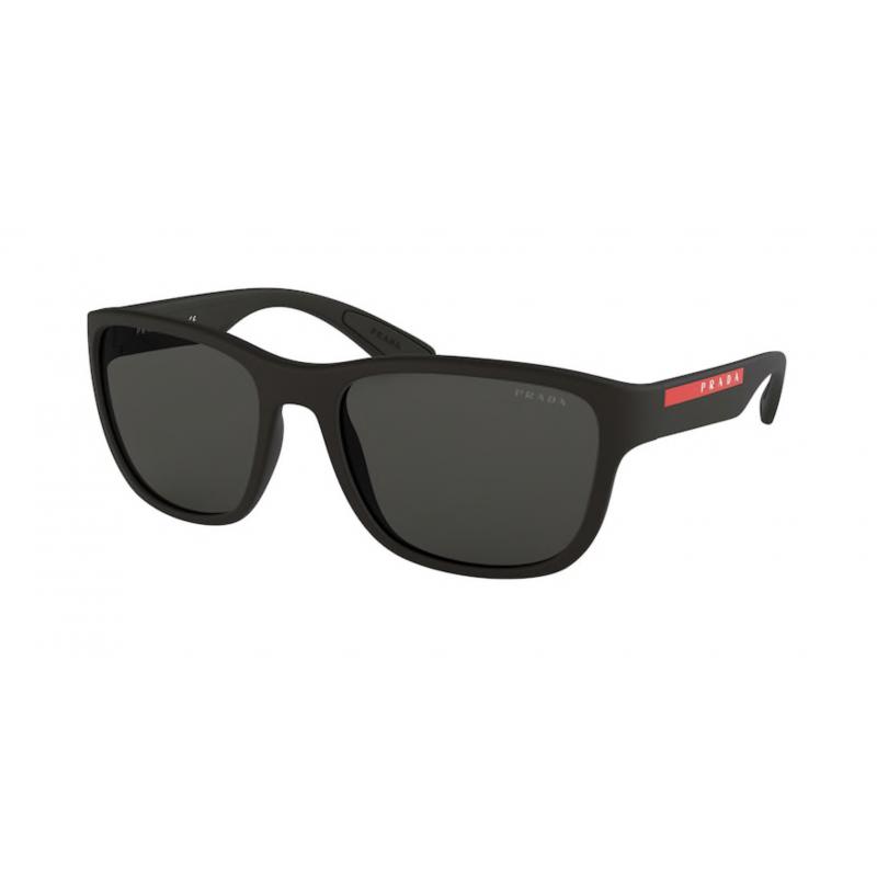 Occhiali da sole PRADA LINEA ROSSA SPS 01U DG0-5S0 59 BLACK RUBBER