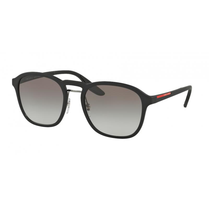 Occhiali da sole PRADA LINEA ROSSA SPS 02S DG0-0A7 55 BLACK RUBBER