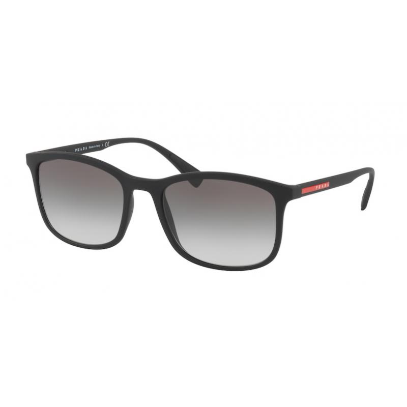 Occhiali da sole PRADA LINEA ROSSA SPS 01T DG0-0A7 56 BLACK RUBBER