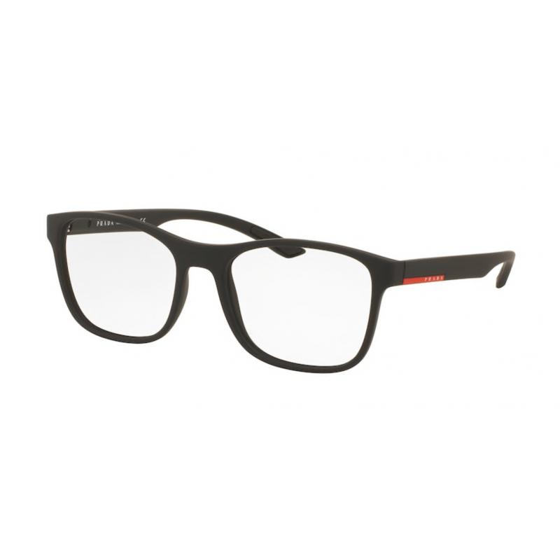 Occhiali da vista PRADA LINEA ROSSA VPS 08G DG0-1O1 54 BLACK RUBBER