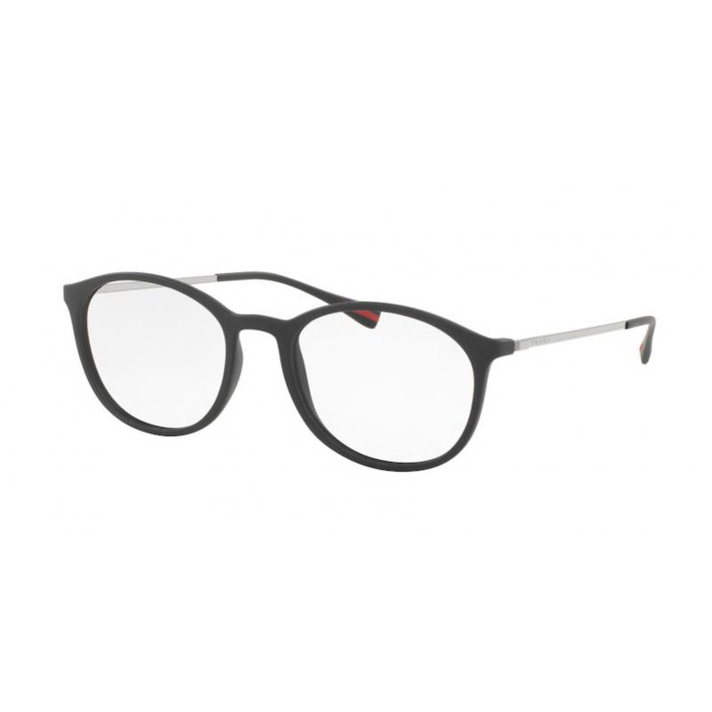 Occhiali da vista PRADA LINEA ROSSA VPS 04H DG0-1O1 53 BLACK RUBBER