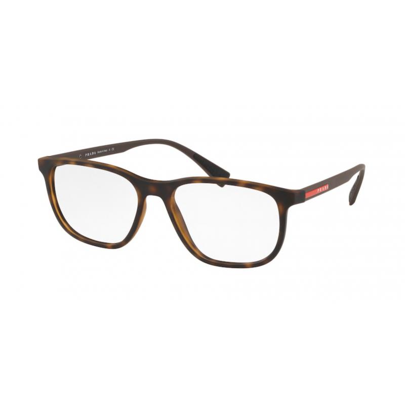 Occhiali da vista PRADA LINEA ROSSA VPS 05L U61-1O1 55 HAVANA RUBBER