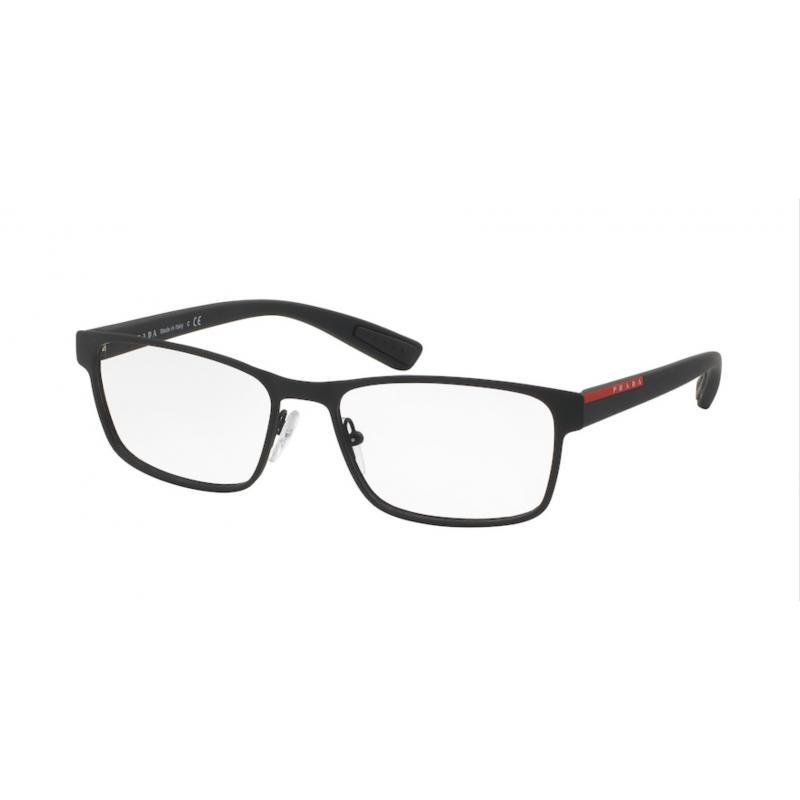 Occhiali da vista PRADA LINEA ROSSA VPS 50G DG0-1O1 55 BLACK RUBBER