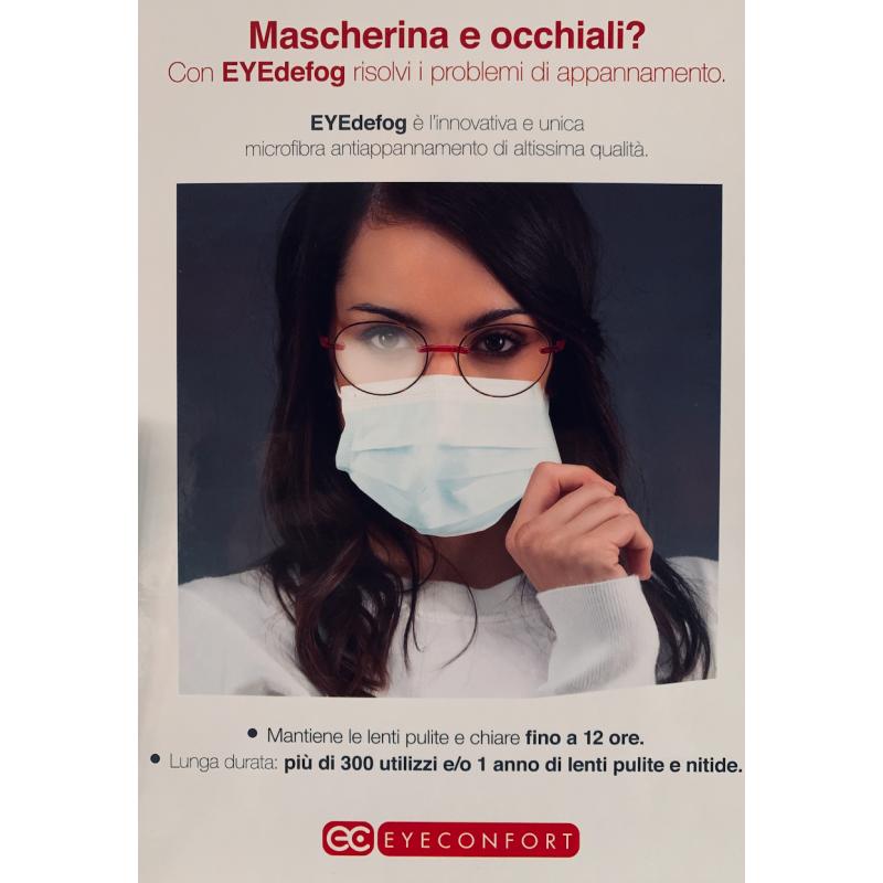 Accessori Eye-defog Swiss-defog microfibra antiappannamento