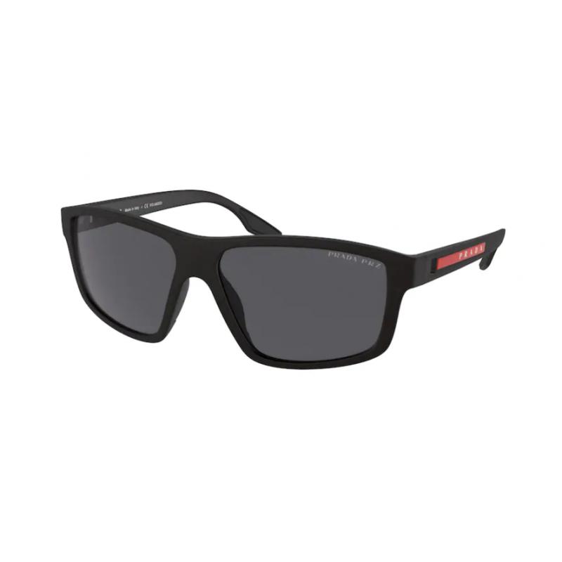 Occhiali da sole PRADA LINEA ROSSA SPS 02X DG0-02G 60 BLACK RUBBER