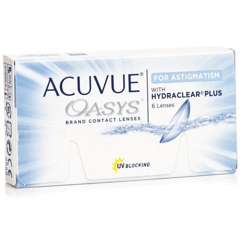 Lenti a contatto Acuvue Oasys For Astigmatism 6 lenti