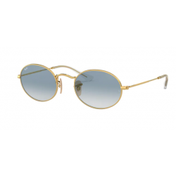 RAY BAN OVAL FLAT ORO RB...
